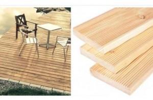 Welches Holz für Terrasse