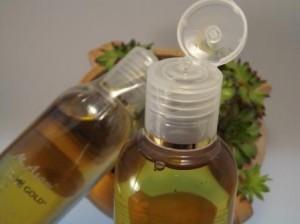 Verschiedene Öle für Regeneration der Haut