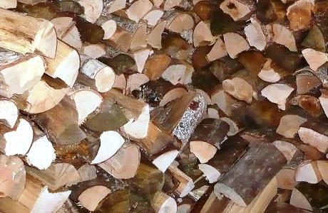 Holz für Kamin und Ofen