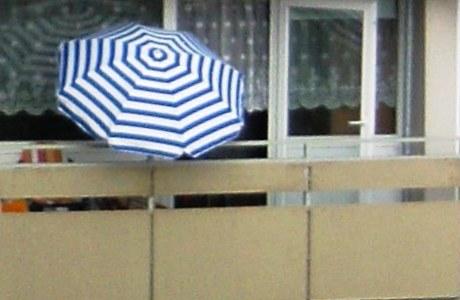 Neuer Sichtschutz für Balkon