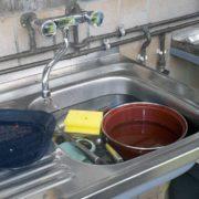 Abflussverstopfung - was hilft