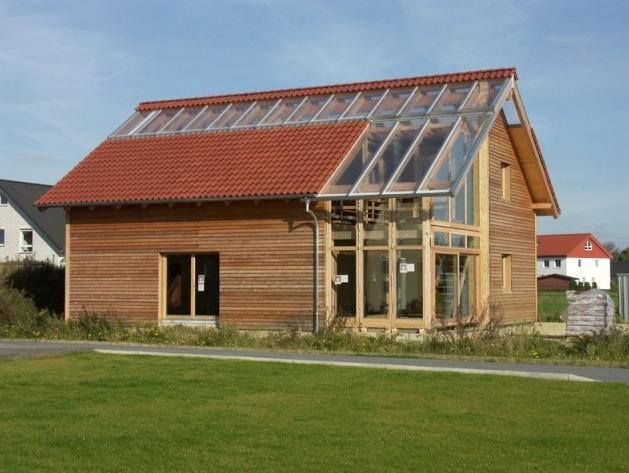 Hausbau - Fertighaus aus Holz