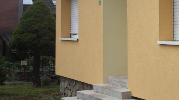 Drainage verhindert Schäden an Außentreppe